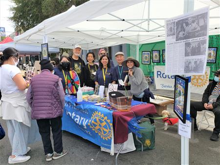 Rotary Booth