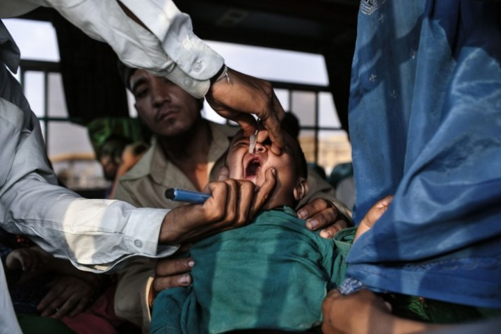 Pakistan polio innoculations