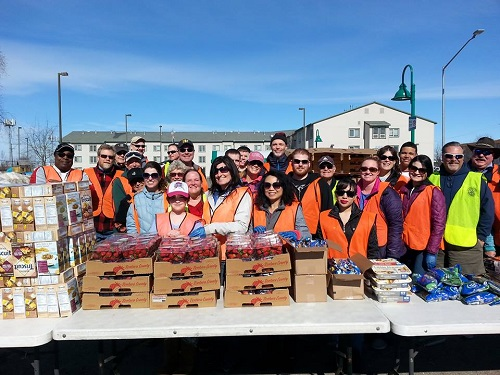 Photos From Mobile Food Pantry Rotary Club Of Anchorage East