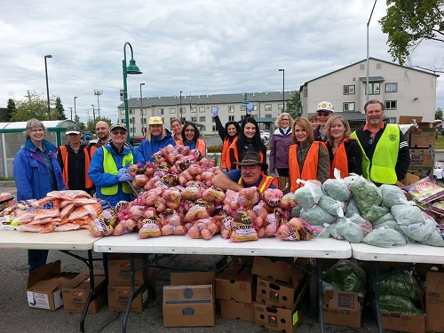 Photos From The Mobile Food Pantry Rotary Club Of