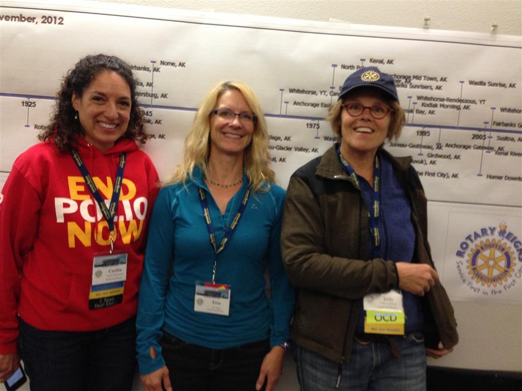 CeCe, Erin & Jody at DC2013