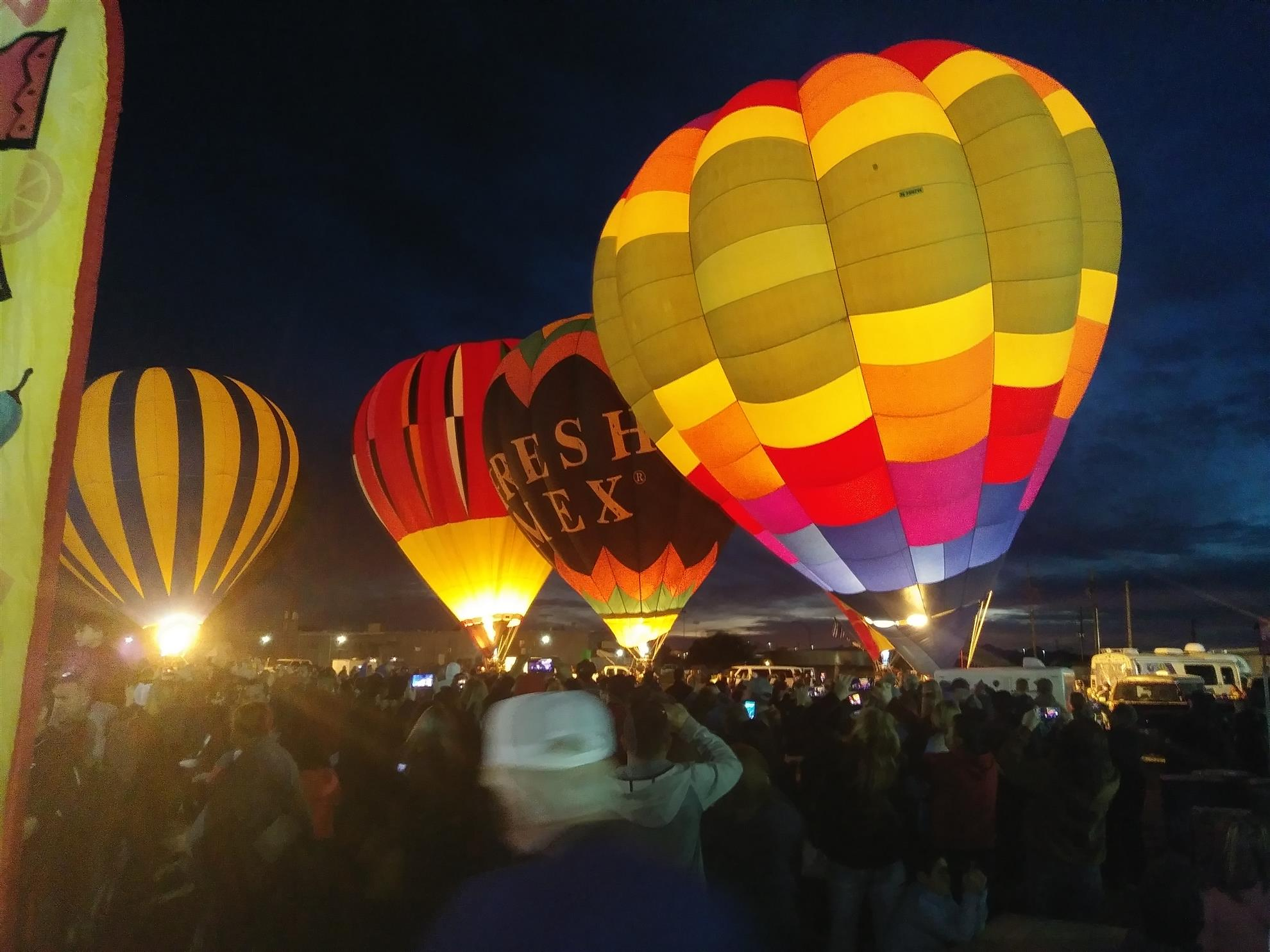 Balloon Glow March 9