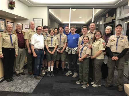 Leadership through Scouting - Troop 860