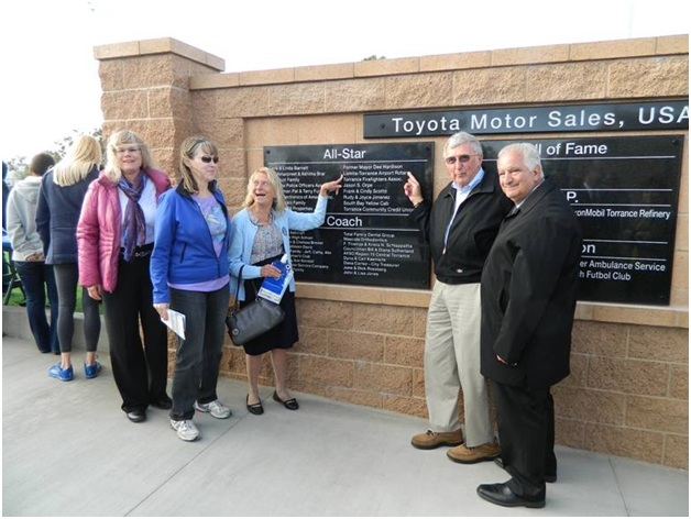 Lomita-Torrance Rotary Club at the Opening of the TOYOTA ...