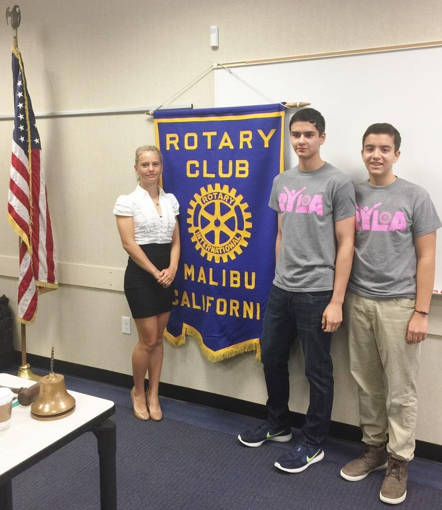 Malibu Rotary Club Offers Ryla Leadership Camp To High School