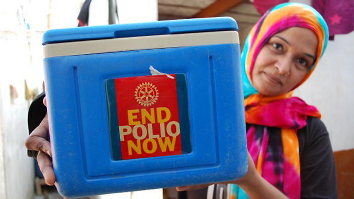 End Polio Now - Rotary