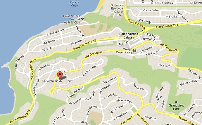 La Venta Inn Map