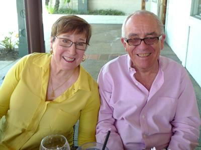 Sylvia and Dennis Benko