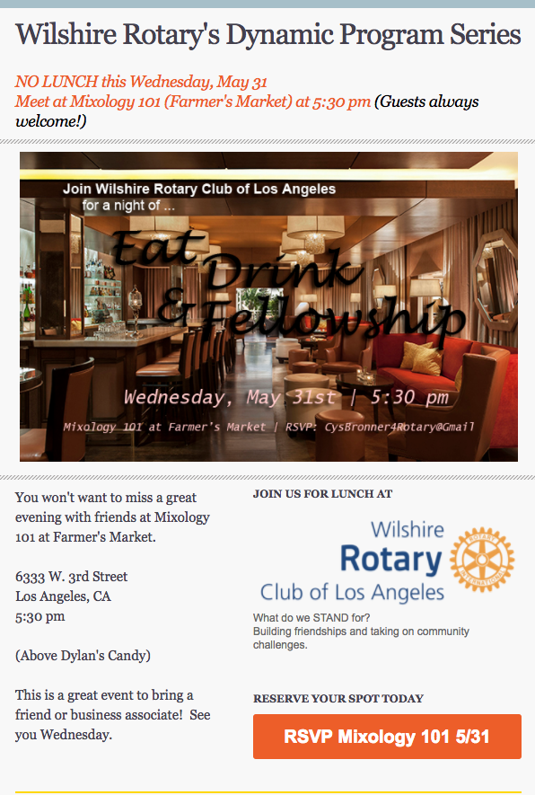 Stories | Wilshire Rotary Club of Los Angeles