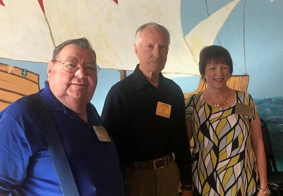 7a7c7e7fbf46 Next we presented John and Harold with token gifts of a Rotary pen and key  chain for their support of Rotary over the years. Each has been a member of  only ...