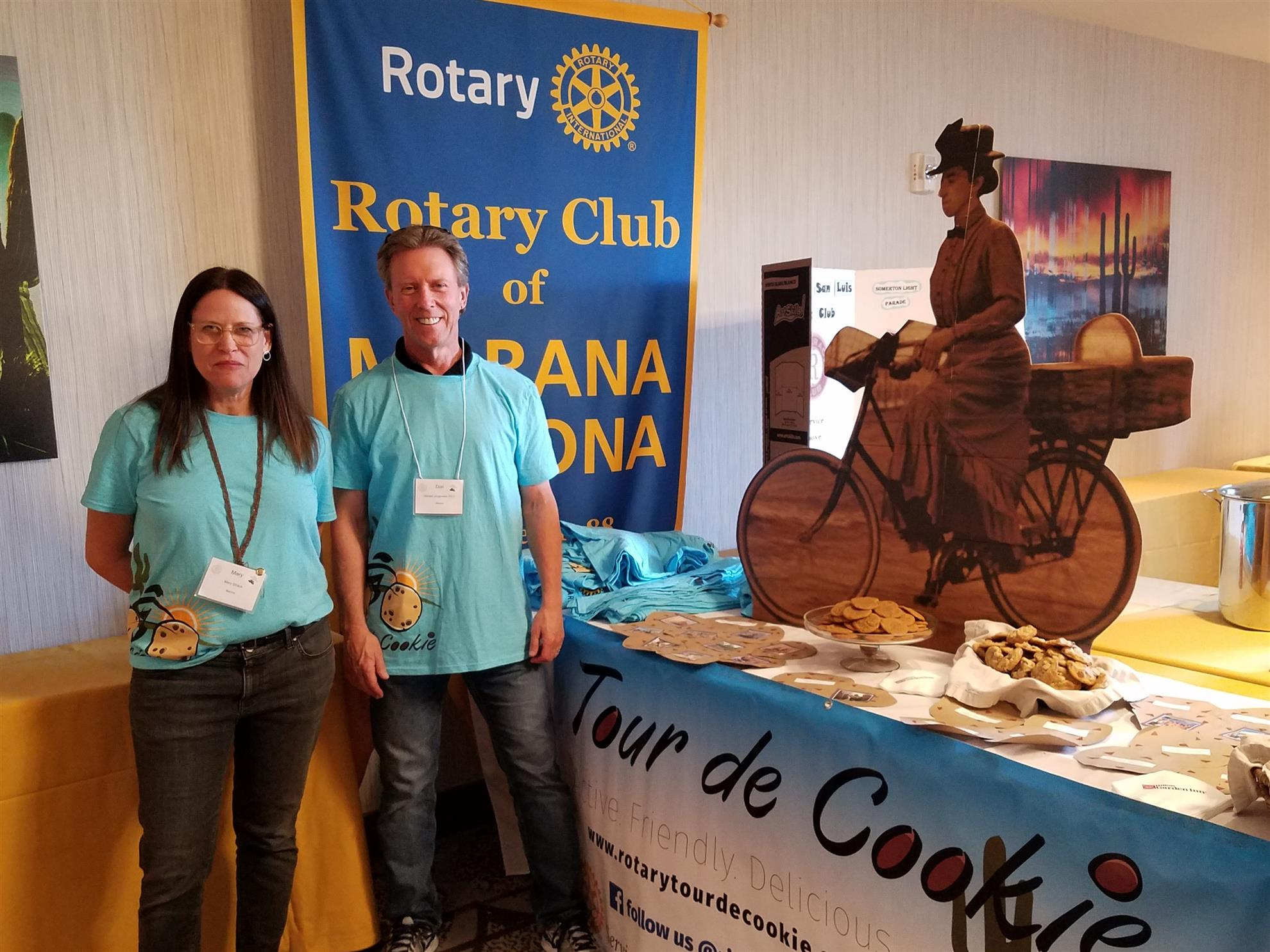 Stories rotary club of marana mary don and randy gave out cookies at the district conference both were warmly received thank you to mary and deb hume randys spouse for baking 1betcityfo Gallery