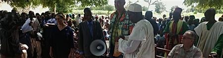 Community Meeting, Malam-Petel, Cameroon
