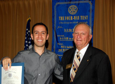 Justin Zaghi, Who Attended RYLA, is Now a Doctor at UCLA