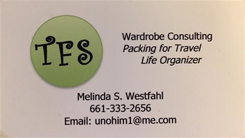 Melinda Westfahl Wardrobe Consulting