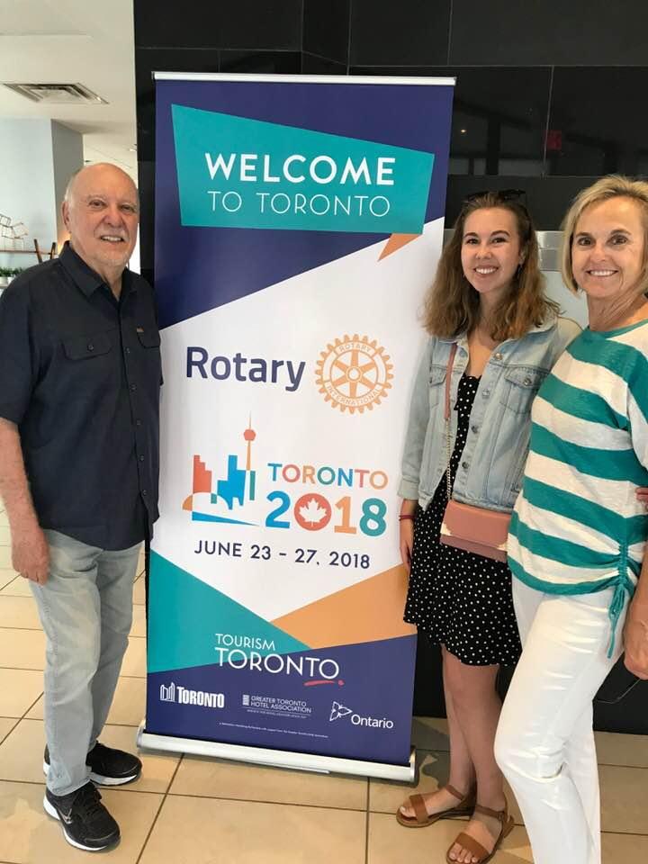 Lin and Family at the RI Conference in Toronto Canada