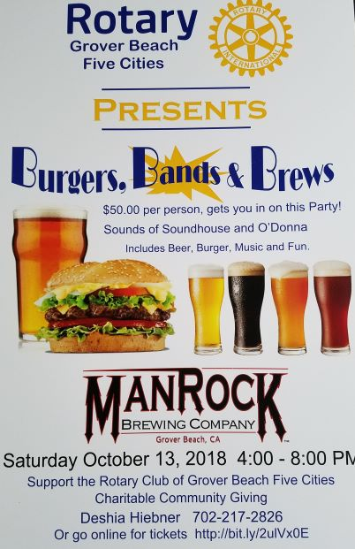 Burgers, Bands & Brews posters