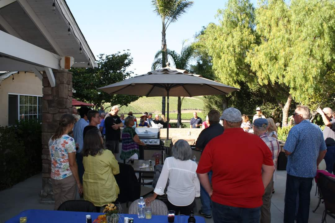 DG BBQ at Curry/s July 24, 2018