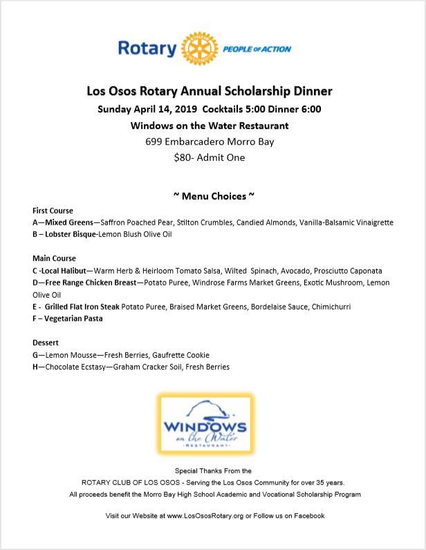 Home Page | Rotary Club of Los Osos