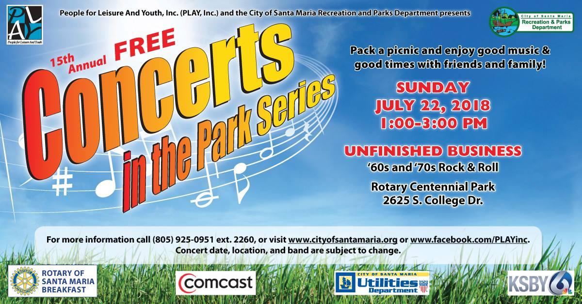 Rotary Centennial Park Events