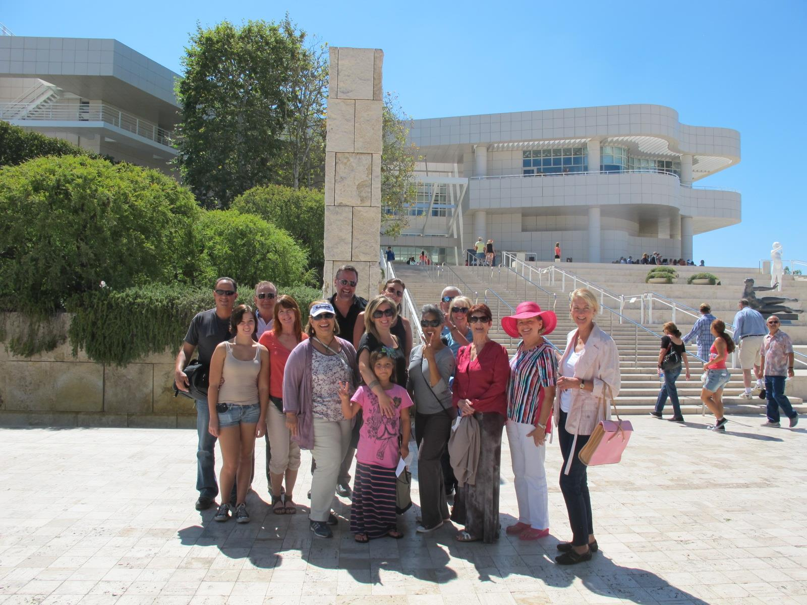 Club Field Trip To The Getty Museum Rotary Club Of Simi