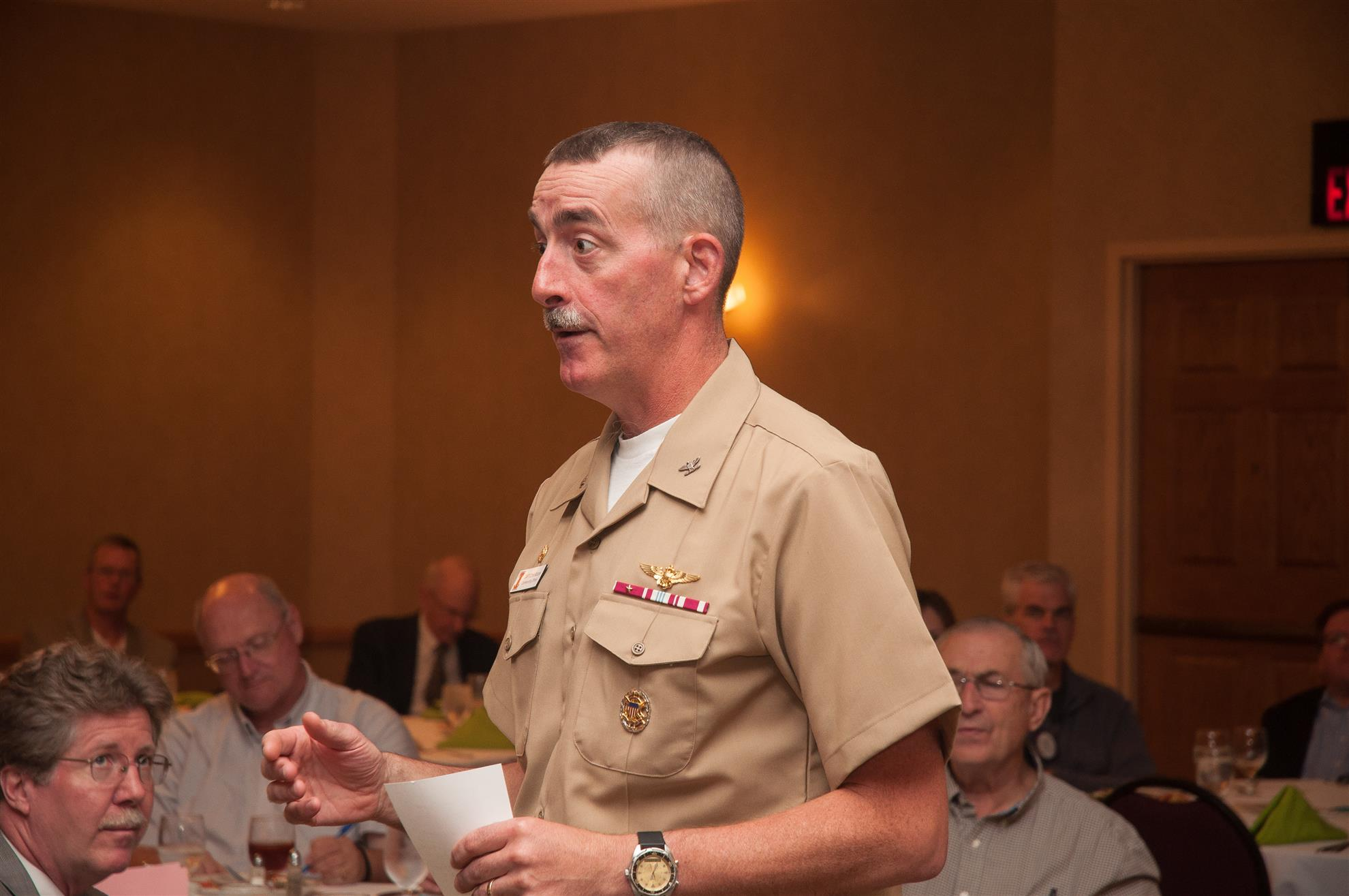 Veterans Day One-on-One | Rotary Club of Champaign