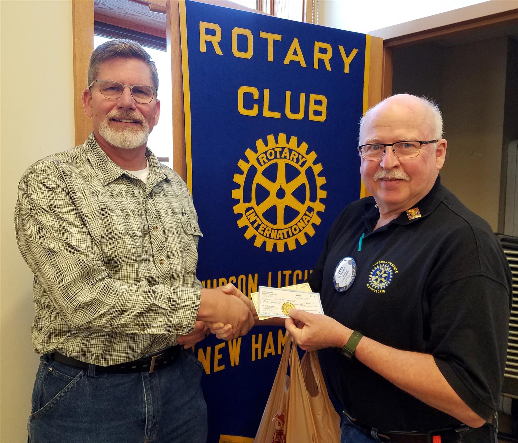 Speaker April 6 2018 Meeting Rotary Club Of Hudson