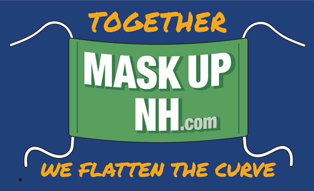 Mask Up NH - Together We Flatten The Curve!