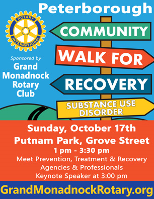 Join the Community Walk For Recovery