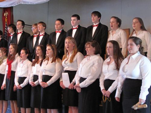 Conval Selct Choir at Rotary 2008