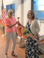 queen city rotary changing of the gavel