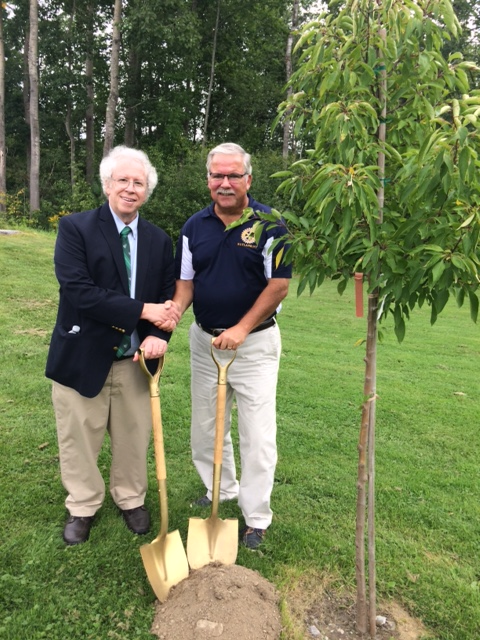 David Wolk Chuck Rose Rotary Tree