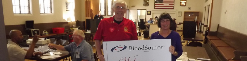 #Lincoln Rotary Give Blood - Save a Life