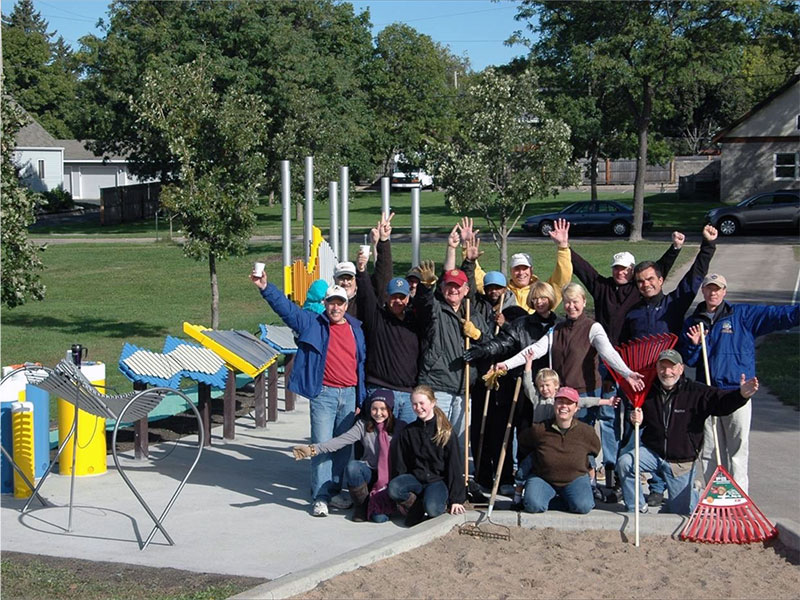 Building the musical playground at Jackson Park