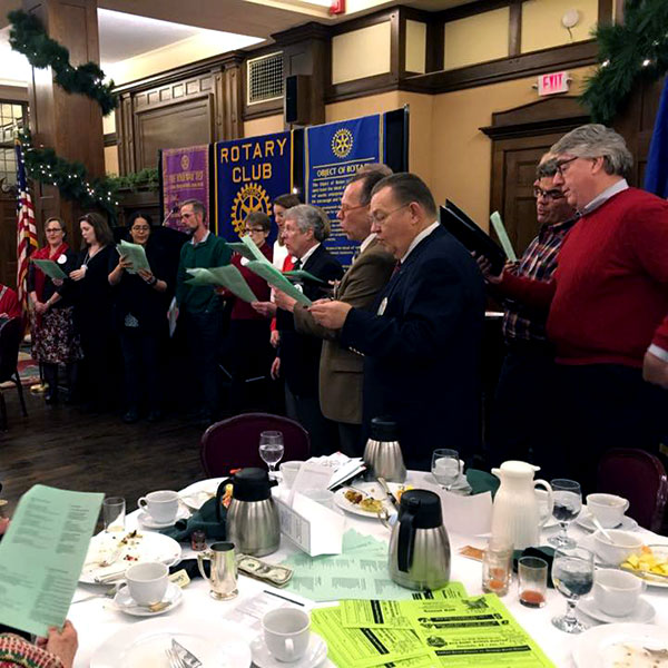 Rooters Holiday Sing-Along