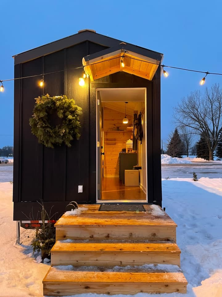 An example of one of Settled's tiny houses