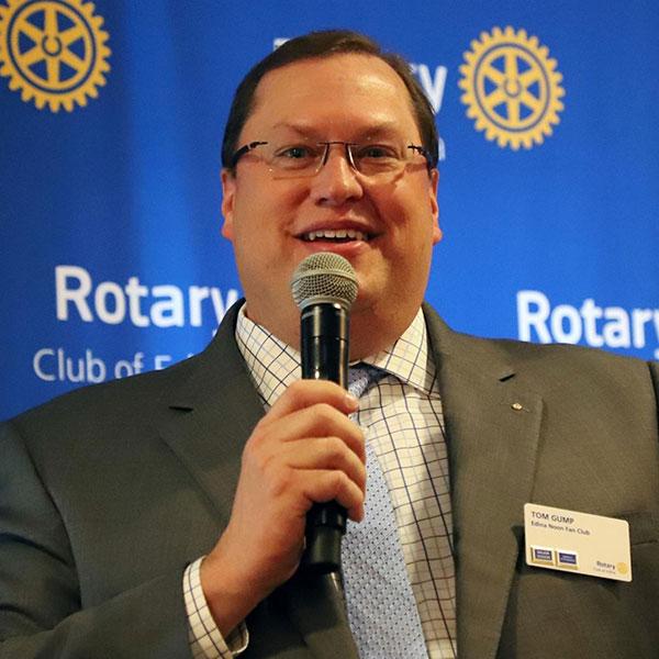 Tom Gump, District 5950 Governor