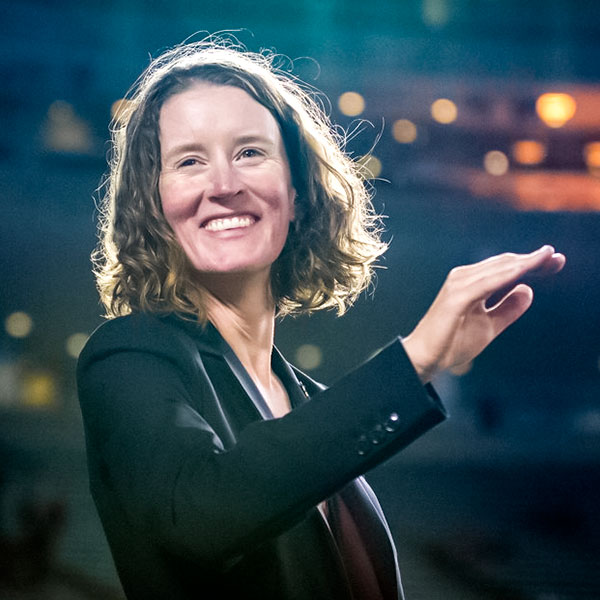 Betsy McCann, UMN Director of Athletic Bands