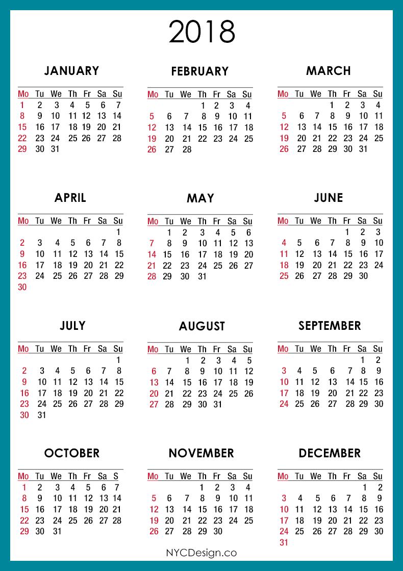 calendar of events april june 30 2018