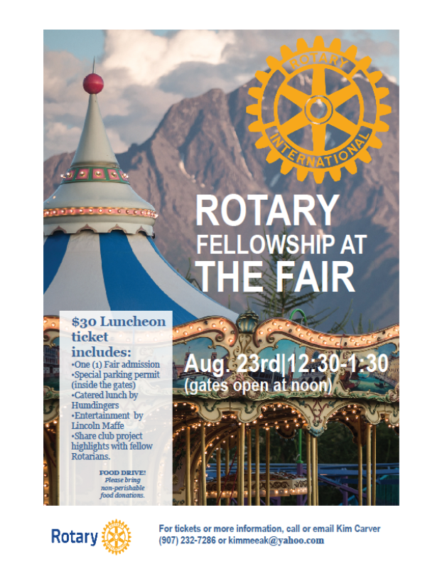 Rotary Fellowship at the Fair