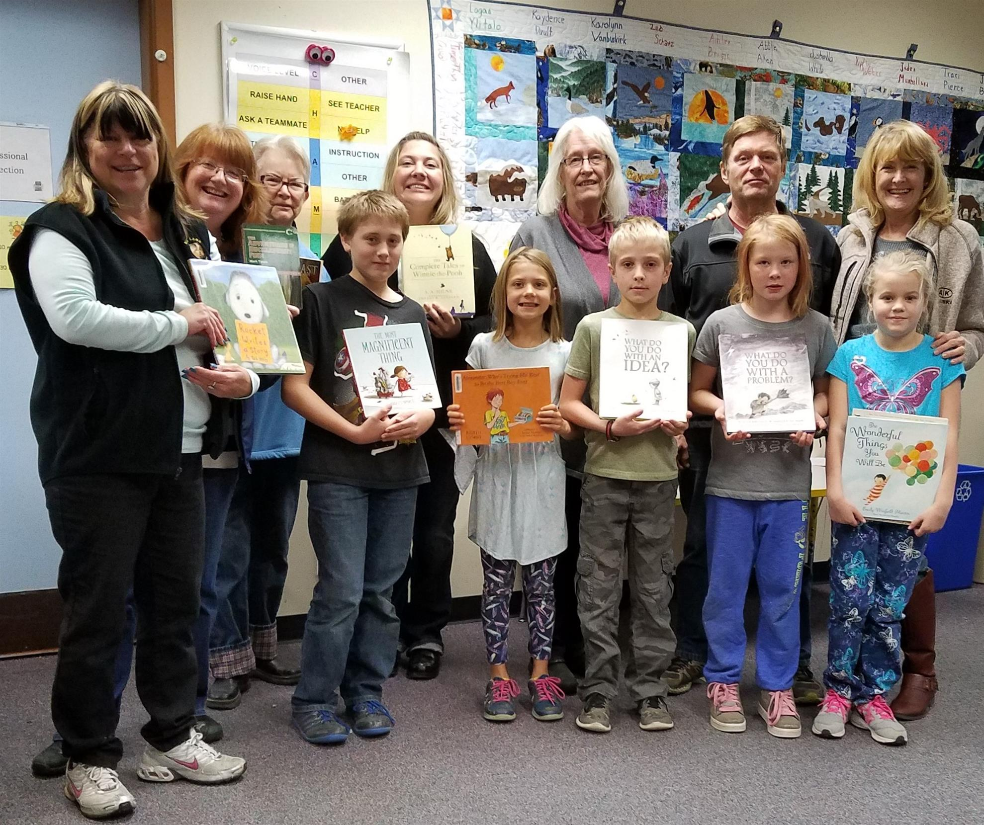 Books to Big Lake Elementary School Library