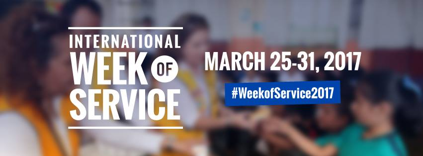 International Week of Service