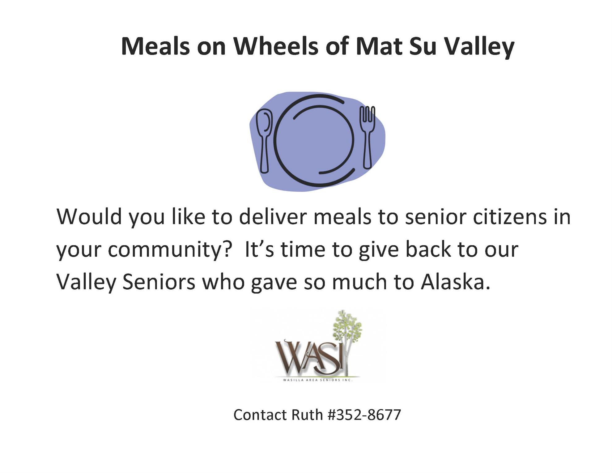 Meals on Wheels Mat Su Valley