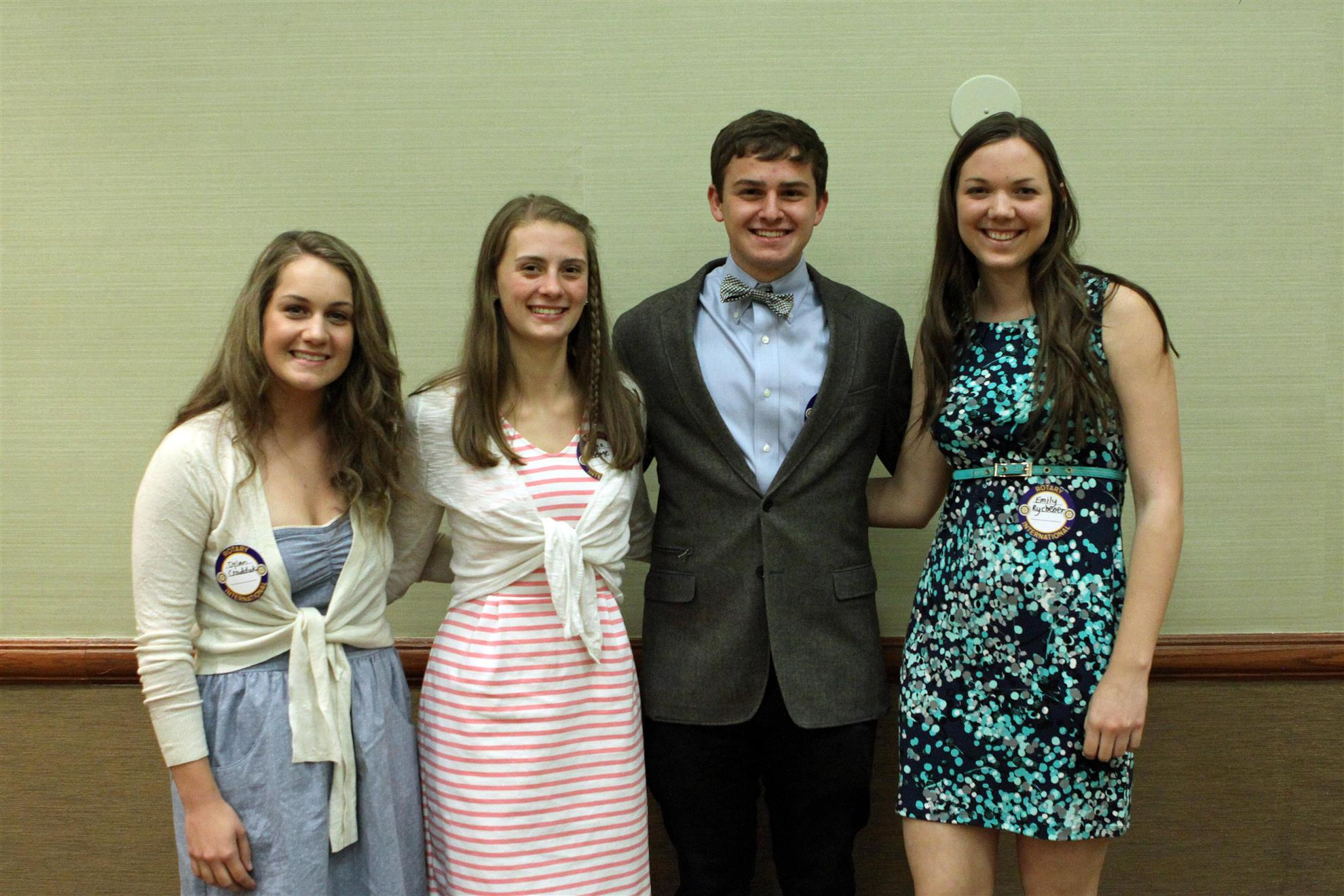 Cheyenne Mountain High School Student Rotarians Awarded Scholarships