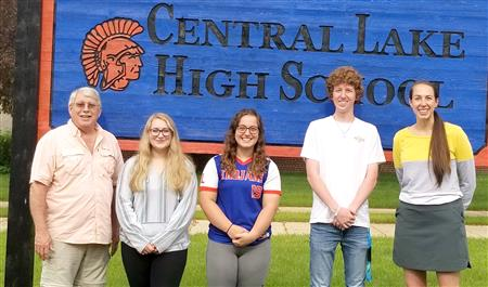 Central Lake Scholarship Receipients