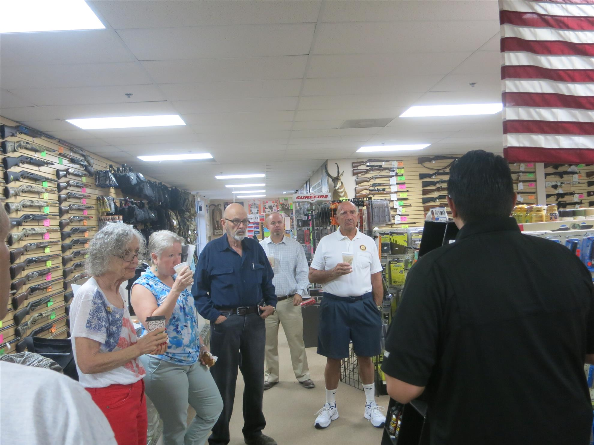 0459d7cf735 Last week we toured 2nd Amendment Sports in Palm Desert. This store is the  desert s largest gun shop and offers a full range of weapons and services  as well ...