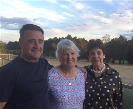 Phil & Margie Harding recently visited the Rodonis in Ballarat