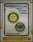 bayonne rotary better world banner