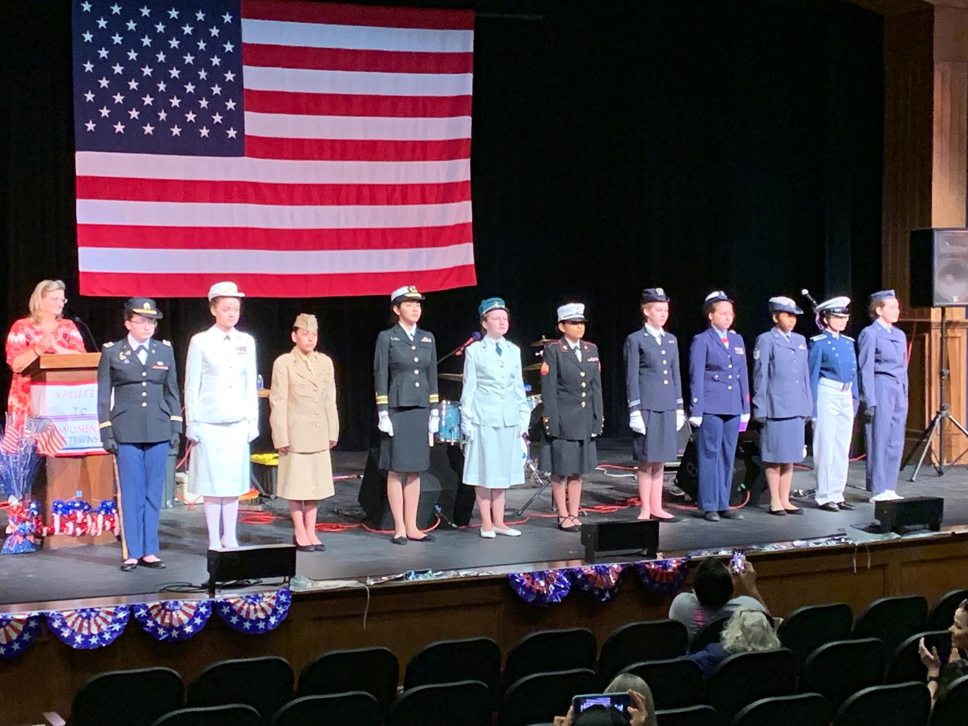 A salute to Women Veterans was held last weekend at the Cailloux Theater.  Rotarian Jimmy Hutto and Wife Bekki and were on hand to lend a hand and  give ... 2c994dd7f
