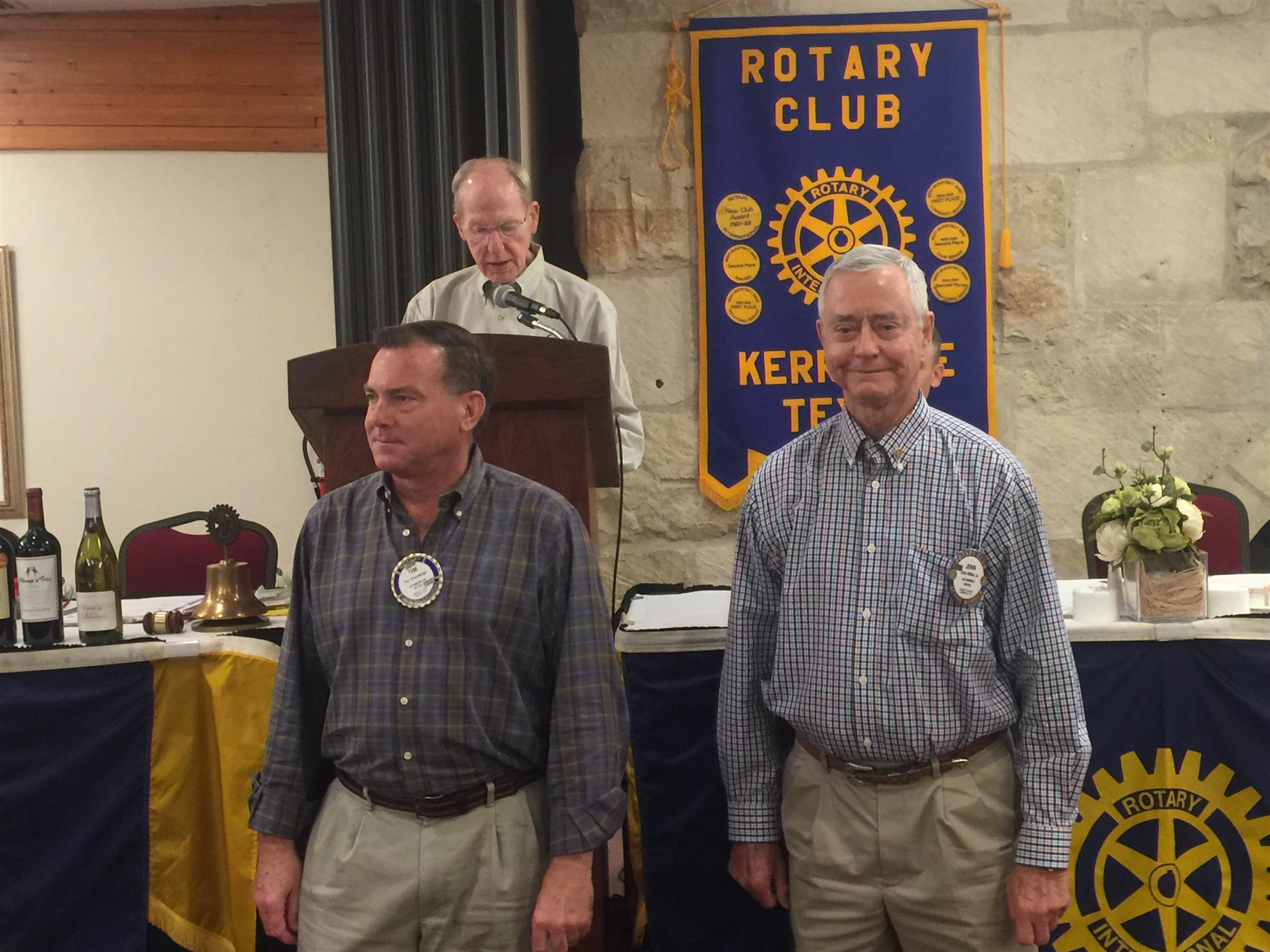 Stories Rotary Club Of Kerrville Paul Browne Two Ideas For Future Technology Integration In Stem Bob Schmerbeck Introduces The Harris Fellows Tim Creweige And John Miller Received Their Award