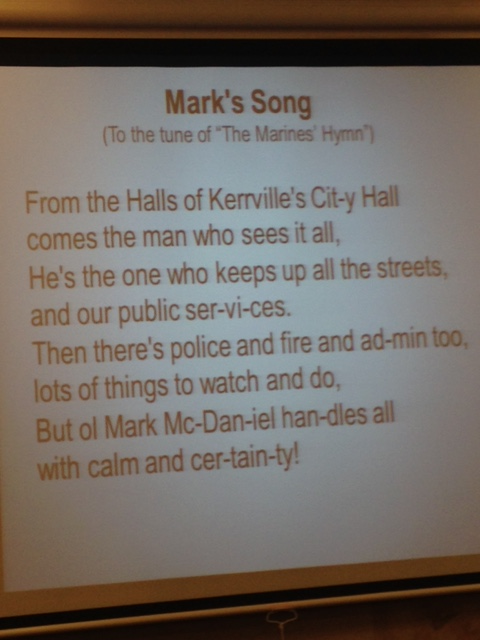 Stories rotary club of kerrville george led us in a song welcoming the city manager mark mcdaniel stopboris Images